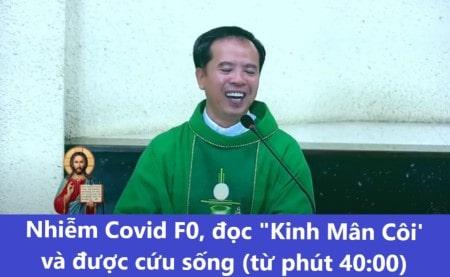 Nhiễm Covid F0 và được cứu sống nhờ Kinh Mân Côi