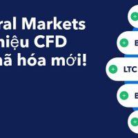 Admiral Markets có thêm Tiền mã hóa CFD mới