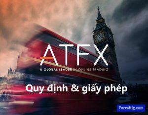 Quy định và giấy phép của ATFX